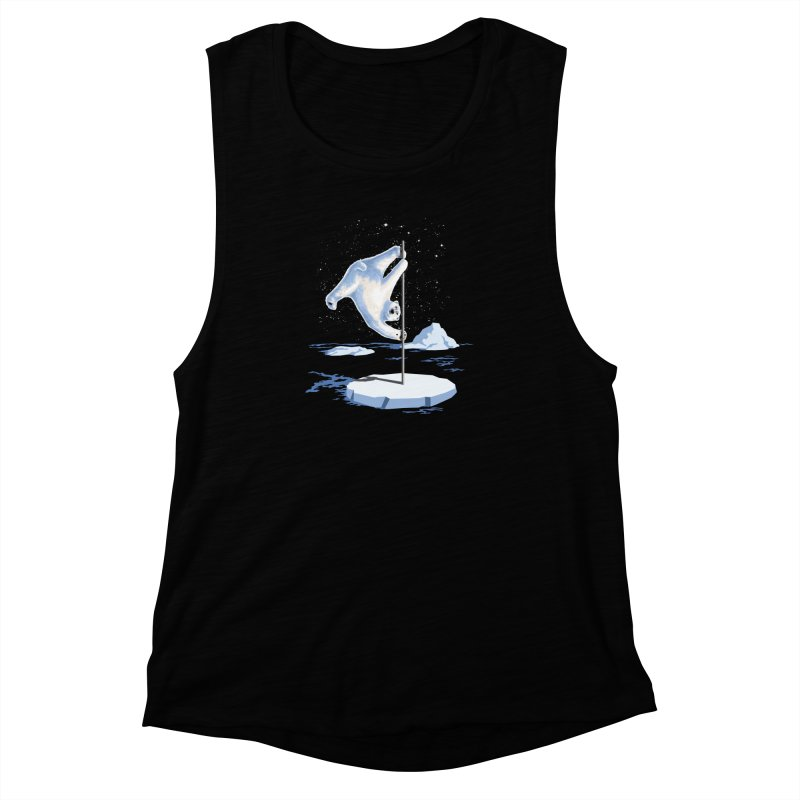 North Pole Dancer Women's Muscle Tank by silentOp's Artist Shop