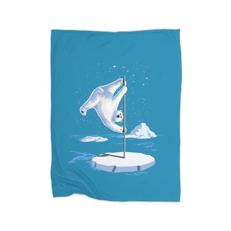 North Pole Dancer Home Blanket by silenTOP Artist Shop