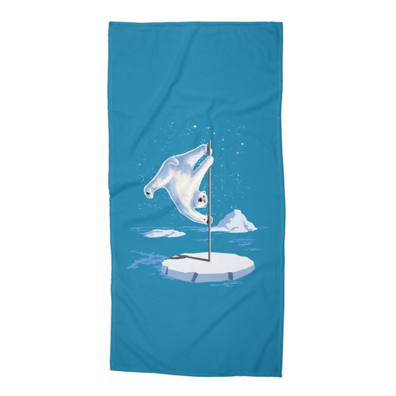 North Pole Dancer Accessories Beach Towel by silenTOP Artist Shop