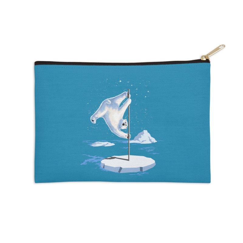 North Pole Dancer Accessories Zip Pouch by silenTOP Artist Shop