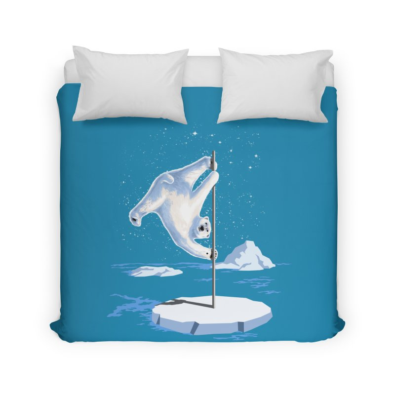 North Pole Dancer Home Duvet by silenTOP Artist Shop