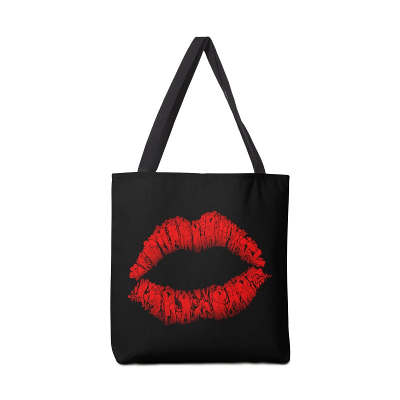 A Big Kiss full of Love Accessories Bag by silenTOP Artist Shop