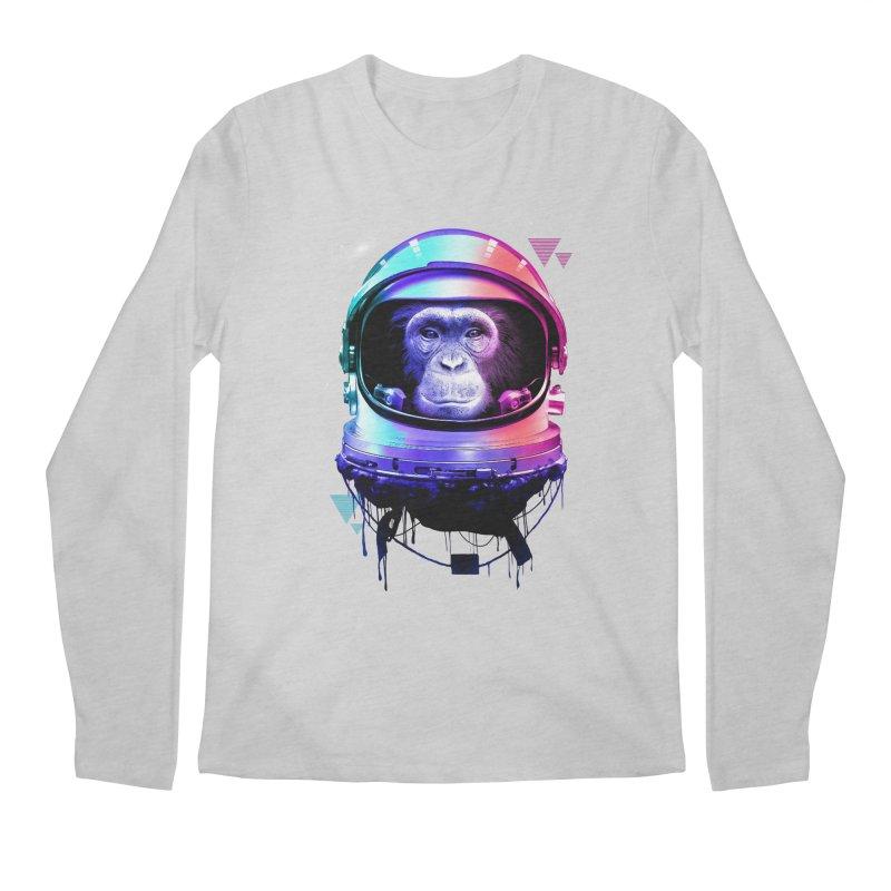 Apestronaut Men's Longsleeve T-Shirt by silenTOP Artist Shop