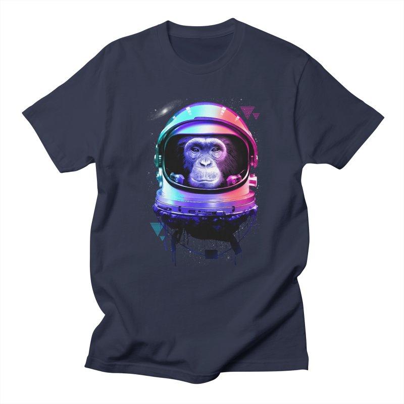 Apestronaut Men's T-Shirt by silenTOP Artist Shop