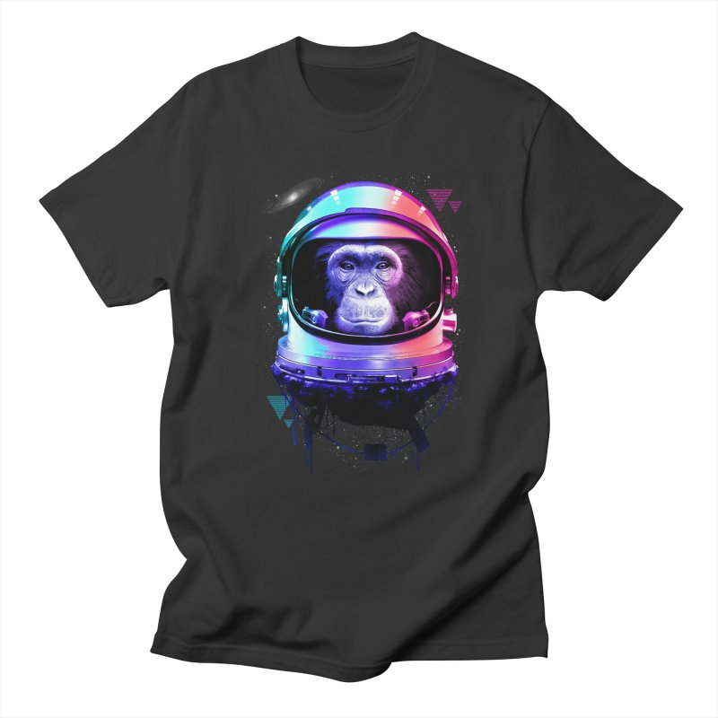Apestronaut Men's T-Shirt by silenTOP Artist Shop