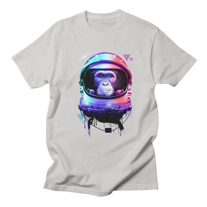 Apestronaut Men's T-shirt by silentOp's Artist Shop