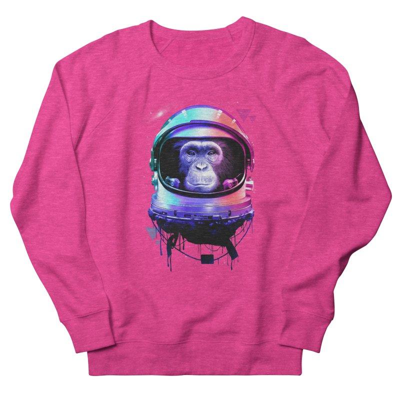 Apestronaut Women's French Terry Sweatshirt by silenTOP Artist Shop