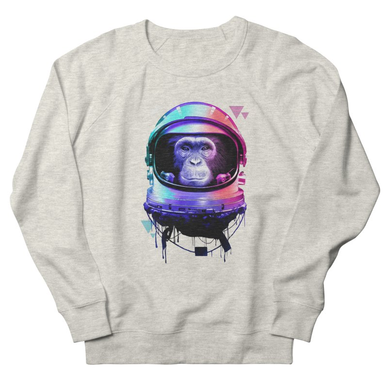 Apestronaut Women's Sweatshirt by silentOp's Artist Shop