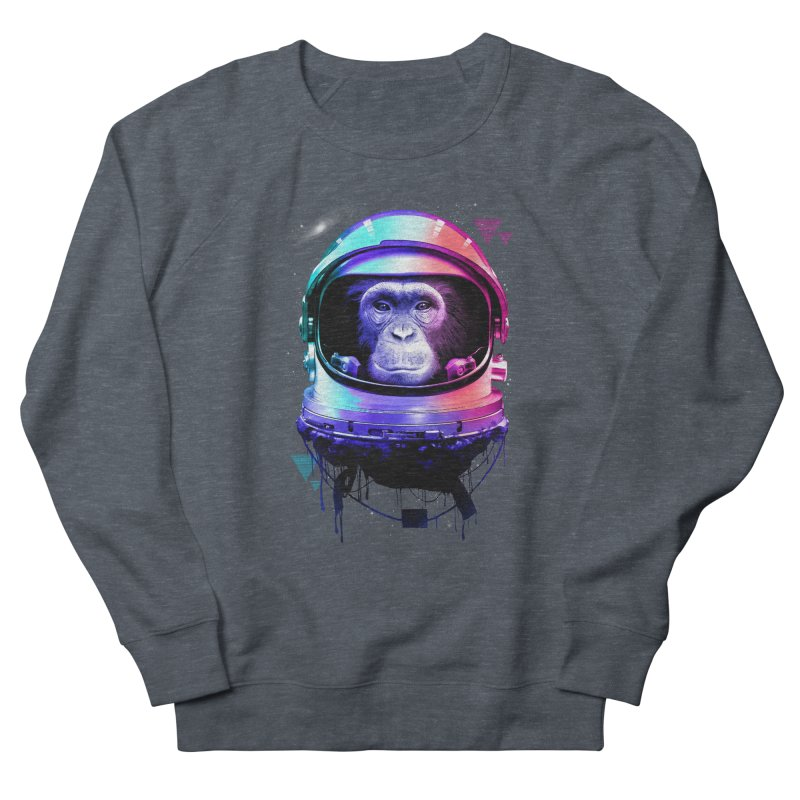 Apestronaut Men's Sweatshirt by silentOp's Artist Shop