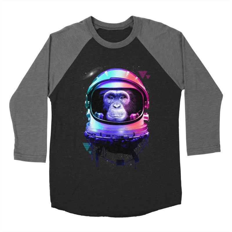 Apestronaut Women's Baseball Triblend T-Shirt by silentOp's Artist Shop