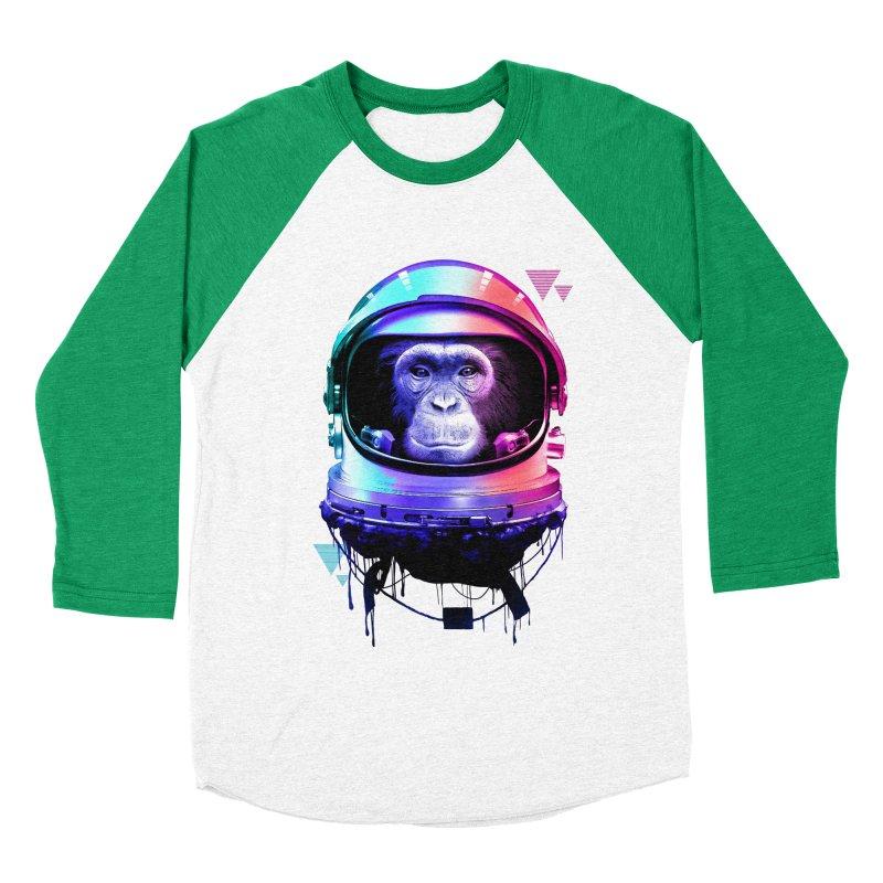 Apestronaut Men's Baseball Triblend T-Shirt by silenTOP Artist Shop