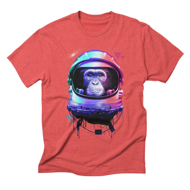 Apestronaut Men's Triblend T-shirt by silentOp's Artist Shop