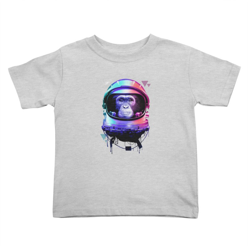 Apestronaut Kids Toddler T-Shirt by silenTOP Artist Shop