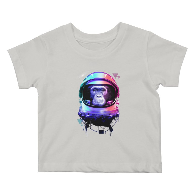 Apestronaut Kids Baby T-Shirt by silenTOP Artist Shop
