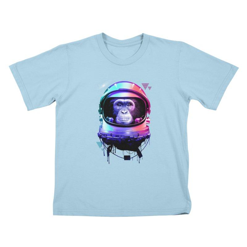Apestronaut Kids T-Shirt by silenTOP Artist Shop