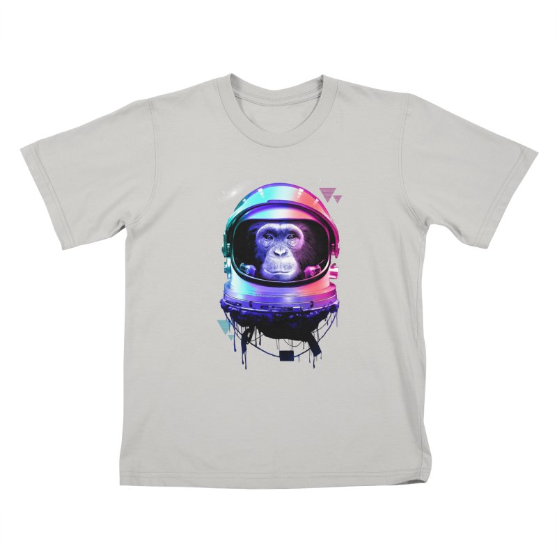 Apestronaut Kids T-Shirt by silenTOP Artist Shop