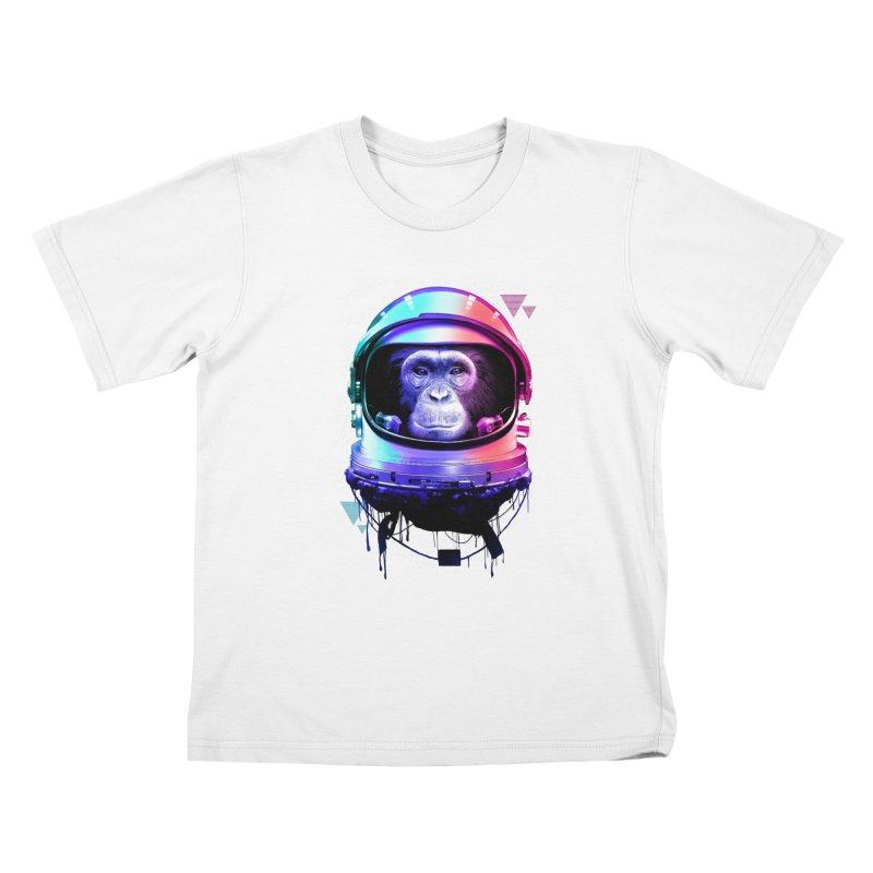 Apestronaut Kids T-shirt by silentOp's Artist Shop