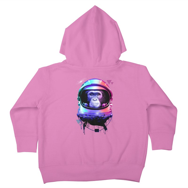 Apestronaut Kids Toddler Zip-Up Hoody by silentOp's Artist Shop