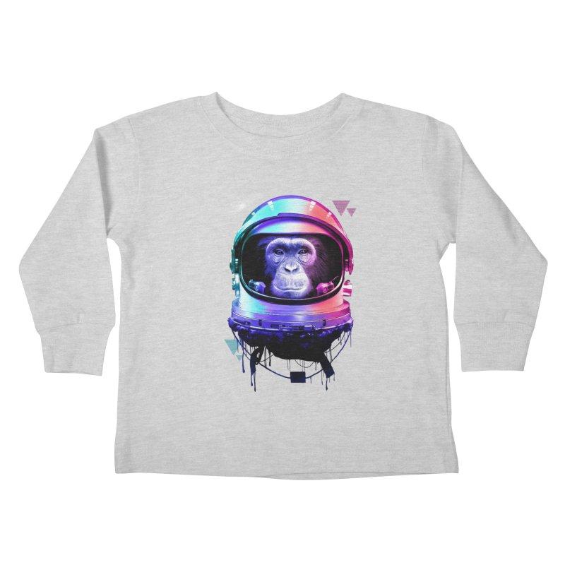 Apestronaut Kids Toddler Longsleeve T-Shirt by silenTOP Artist Shop