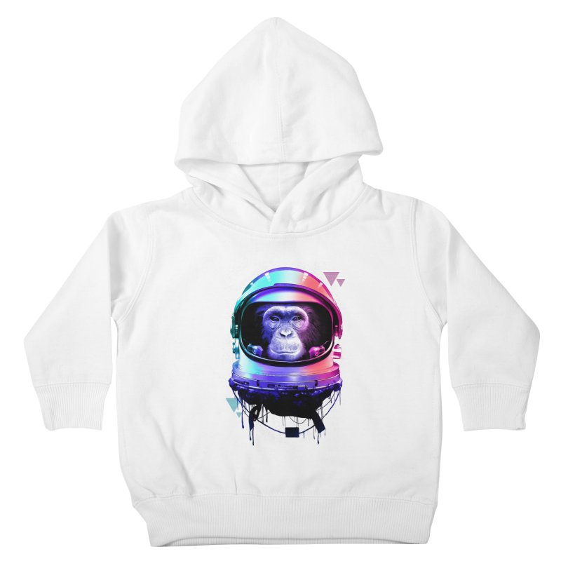 Apestronaut Kids Toddler Pullover Hoody by silenTOP Artist Shop