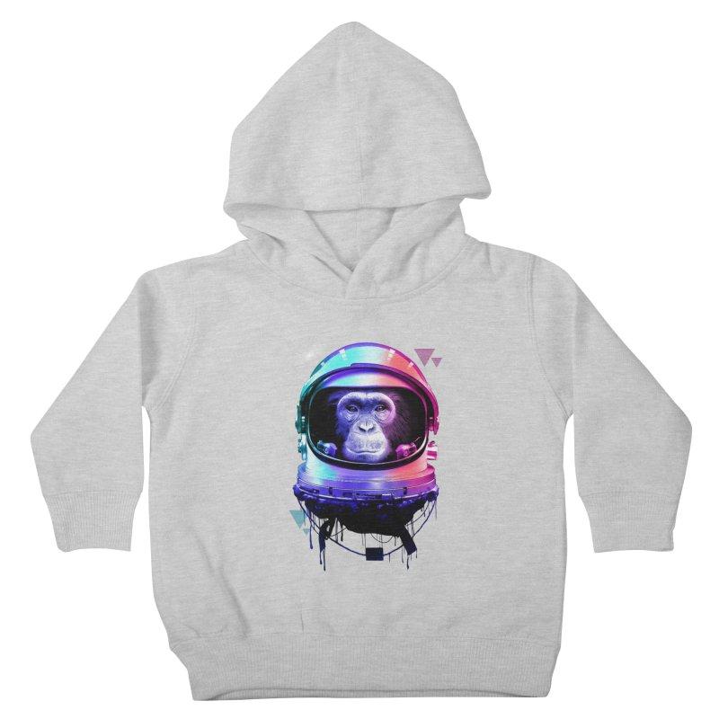 Apestronaut Kids Toddler Pullover Hoody by silentOp's Artist Shop