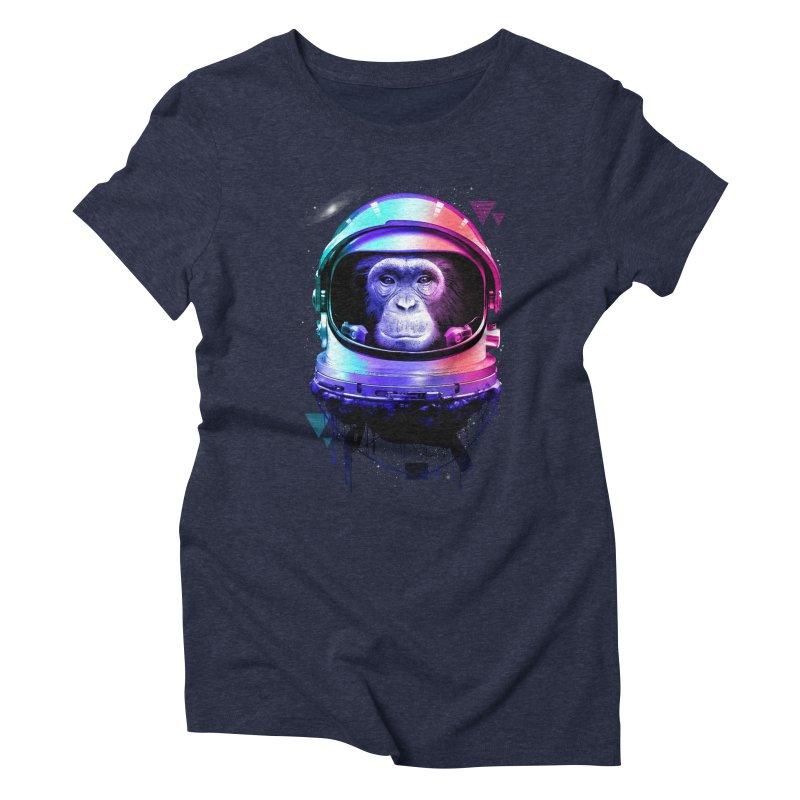 Apestronaut Women's Triblend T-Shirt by silenTOP Artist Shop