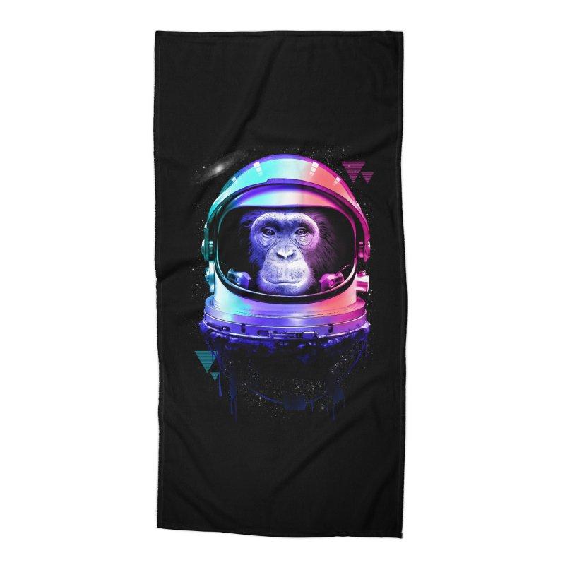 Apestronaut Accessories Beach Towel by silenTOP Artist Shop