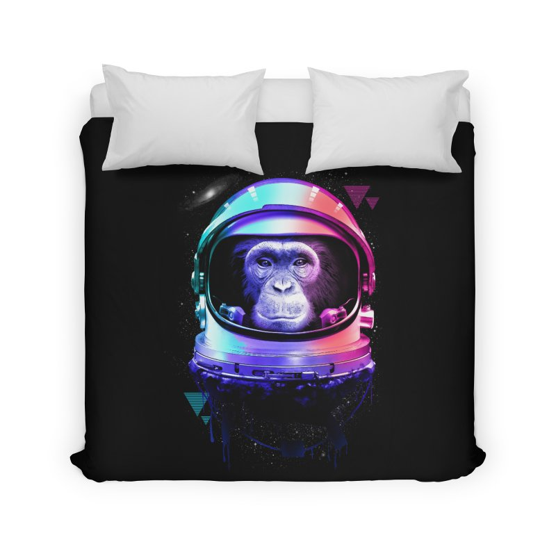 Apestronaut Home Duvet by silenTOP Artist Shop