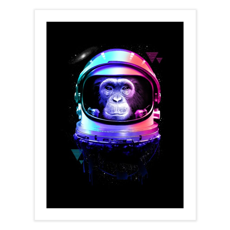 Apestronaut Home Fine Art Print by silenTOP Artist Shop