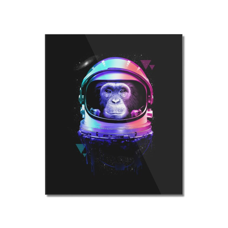 Apestronaut Home Mounted Acrylic Print by silenTOP Artist Shop