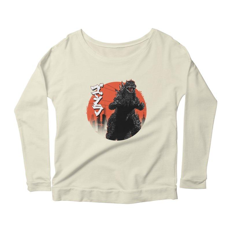KANJIRA Women's Scoop Neck Longsleeve T-Shirt by silenTOP Artist Shop