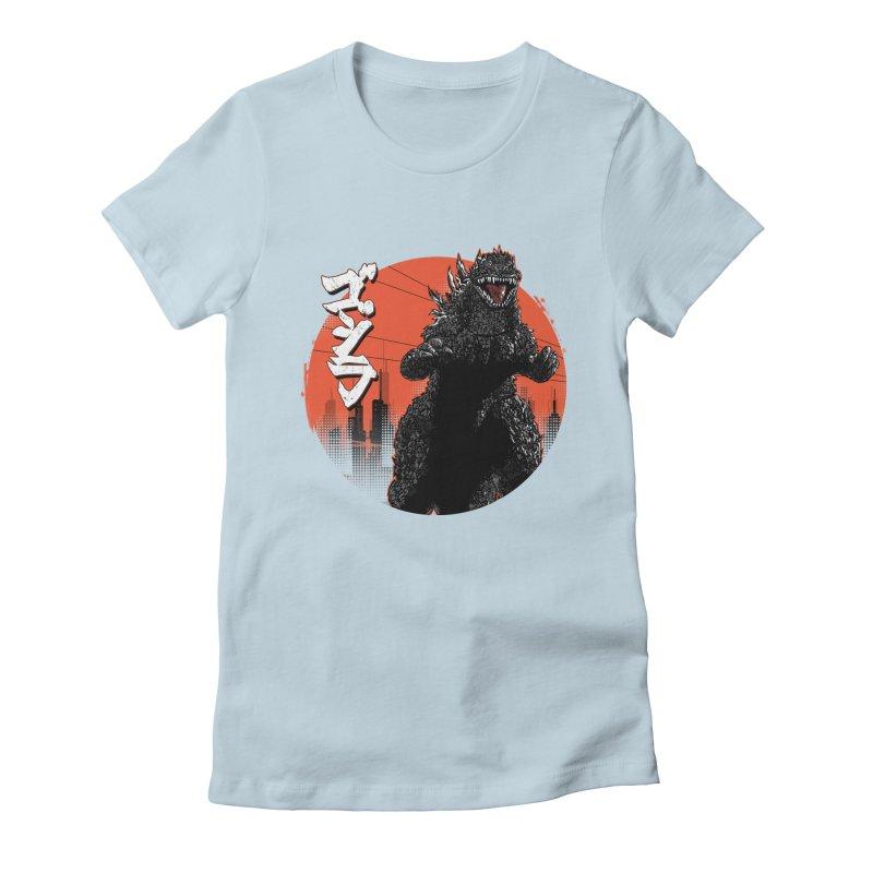 KANJIRA Women's Fitted T-Shirt by silenTOP Artist Shop