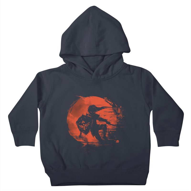 Strokes of Legend Kids Toddler Pullover Hoody by silenTOP Artist Shop