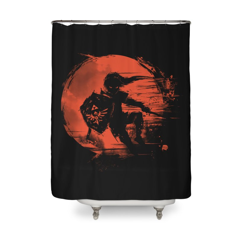 Strokes of Legend Home Shower Curtain by silenTOP Artist Shop