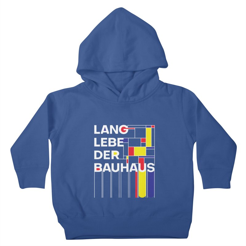 Long live the Bauhaus Kids Toddler Pullover Hoody by silenTOP Artist Shop