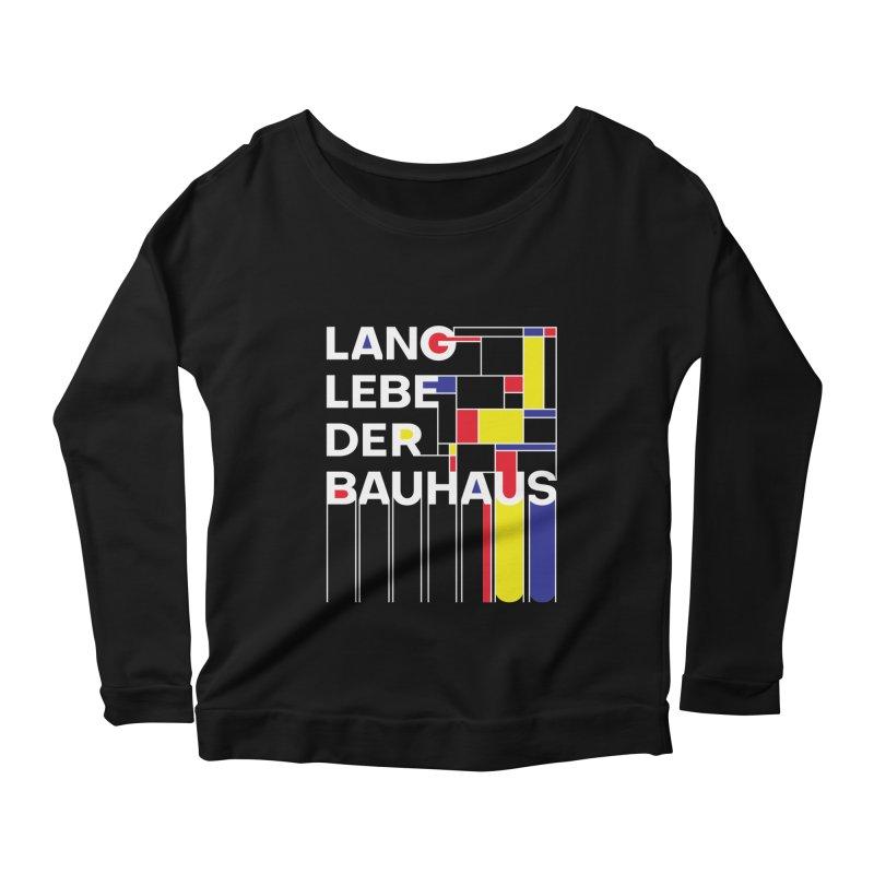 Long live the Bauhaus Women's Scoop Neck Longsleeve T-Shirt by silenTOP Artist Shop