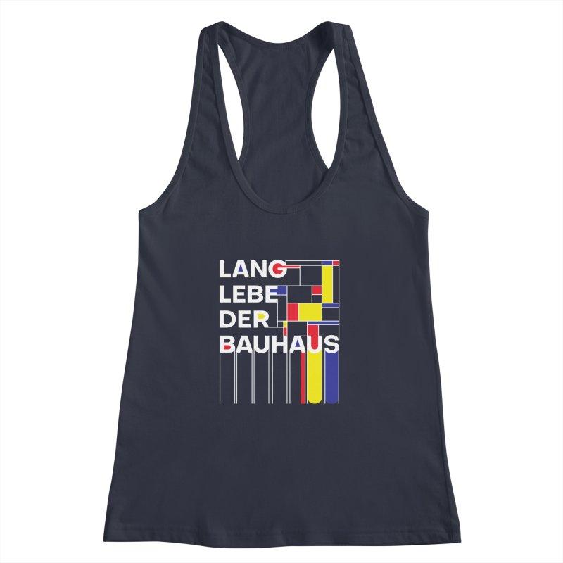 Long live the Bauhaus Women's Racerback Tank by silenTOP Artist Shop