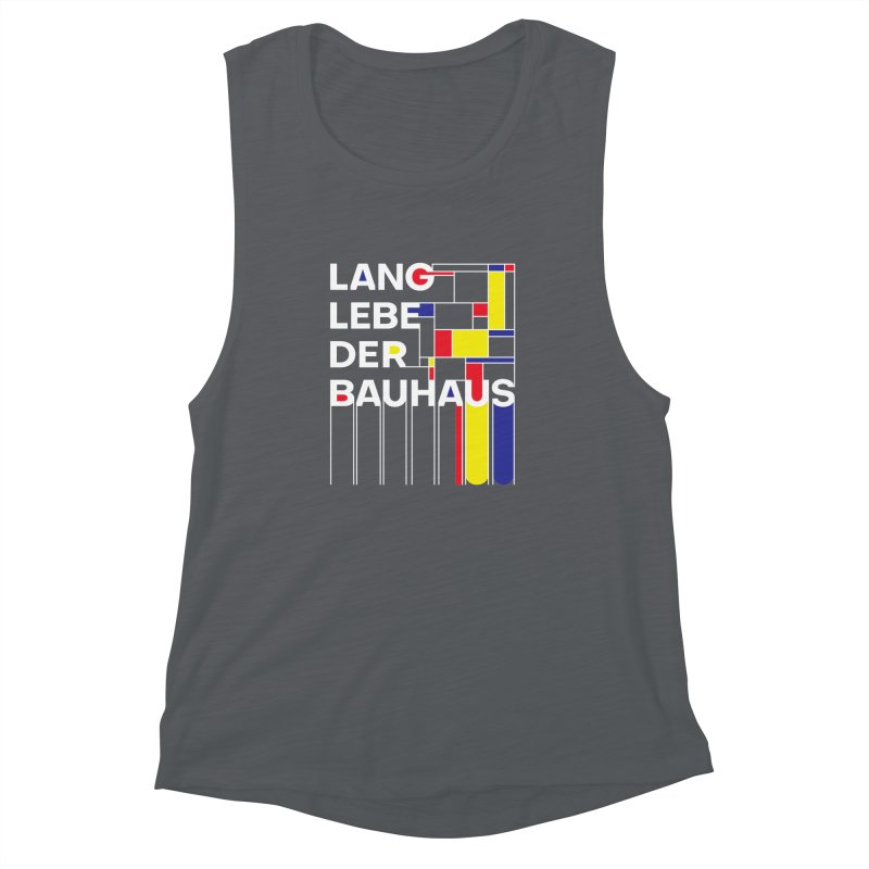 Long live the Bauhaus Women's Muscle Tank by silenTOP Artist Shop