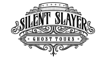 Silent Slayer Ghost Tours Merch Logo
