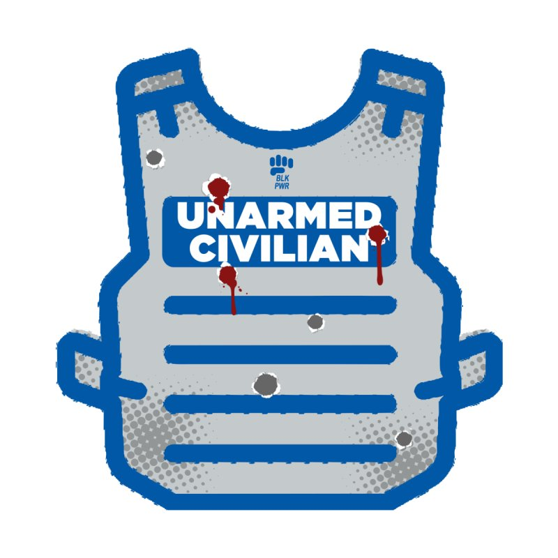BLKPWR | Unarmed Civilian - Flack Jacket Home Fine Art Print by Silli Philli Produktionz | Custom Prints