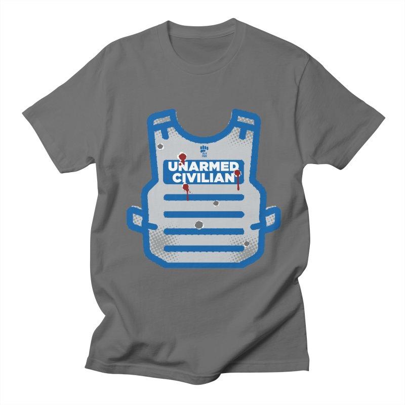 BLKPWR   Unarmed Civilian - Flack Jacket Men's T-Shirt by Silli Philli Produktionz   Custom Prints