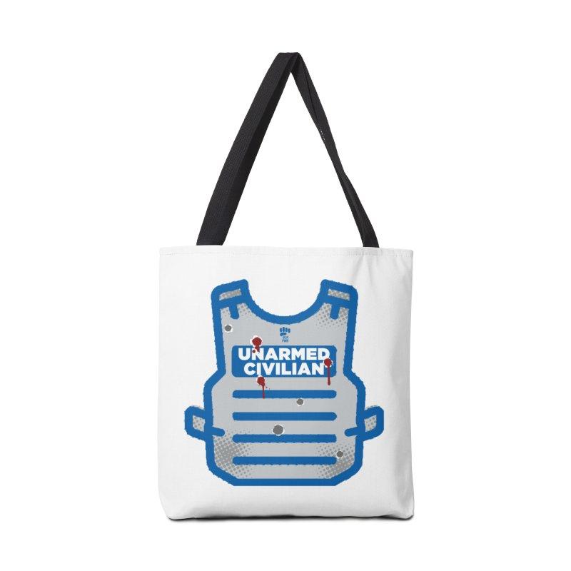 BLKPWR | Unarmed Civilian - Flack Jacket Accessories Bag by Silli Philli Produktionz | Custom Prints