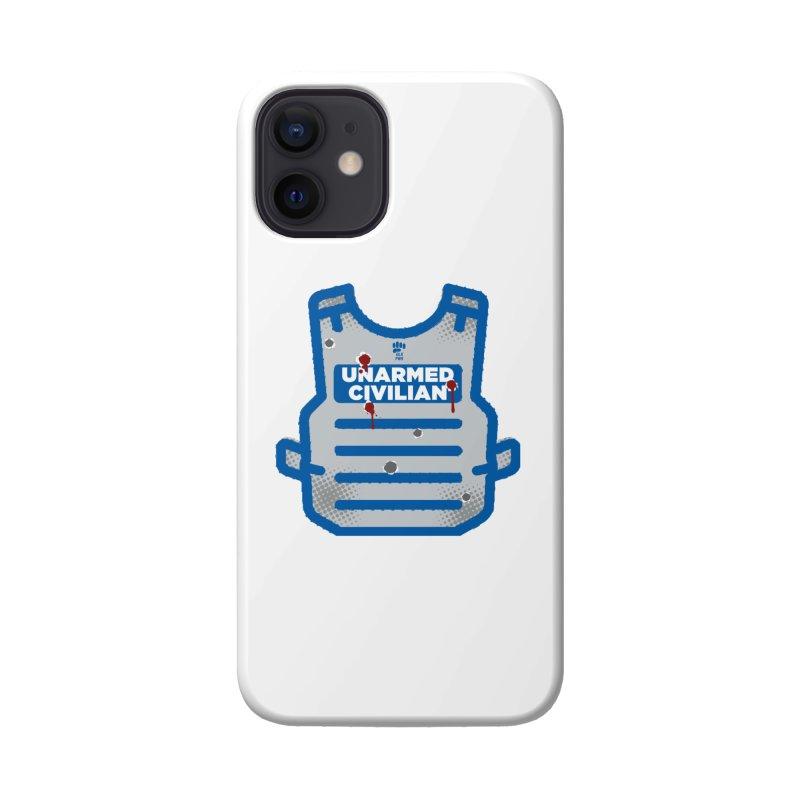 BLKPWR   Unarmed Civilian - Flack Jacket Accessories Phone Case by Silli Philli Produktionz   Custom Prints