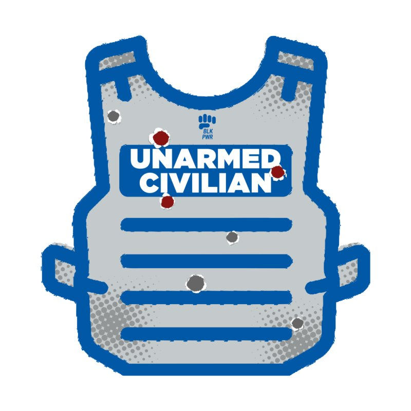 BLKPWR | Unarmed Civilian - Flack Jacket Men's T-Shirt by Silli Philli Produktionz