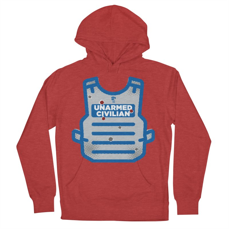 BLKPWR | Unarmed Civilian - Flack Jacket Men's French Terry Pullover Hoody by Silli Philli Produktionz