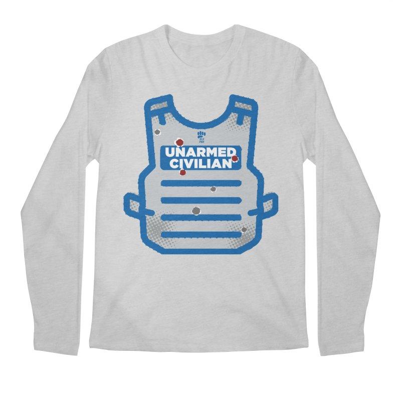 BLKPWR | Unarmed Civilian - Flack Jacket Men's Regular Longsleeve T-Shirt by Silli Philli Produktionz