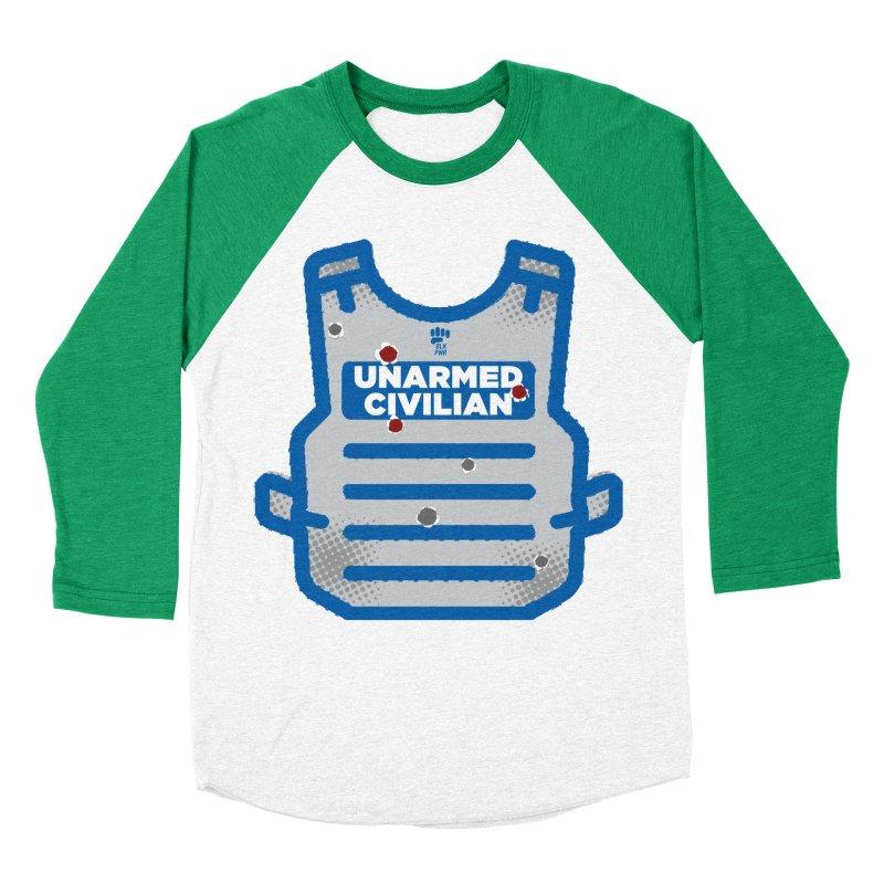 BLKPWR | Unarmed Civilian - Flack Jacket Women's Baseball Triblend Longsleeve T-Shirt by Silli Philli Produktionz