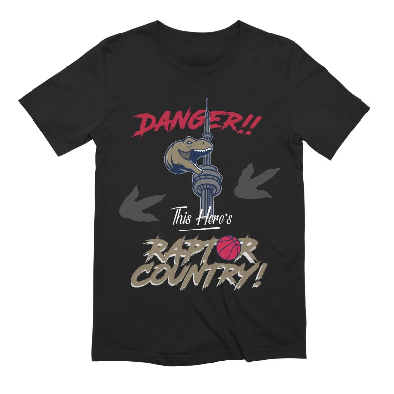 This Here's [Toronto] Raptor Country Men's Extra Soft T-Shirt by Silli Philli Produktionz