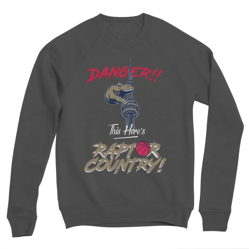 This Here's [Toronto] Raptor Country Men's Sponge Fleece Sweatshirt by Silli Philli Produktionz