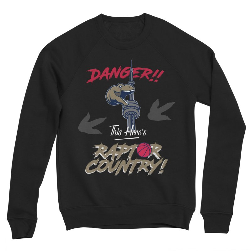 This Here's [Toronto] Raptor Country Women's Sponge Fleece Sweatshirt by Silli Philli Produktionz